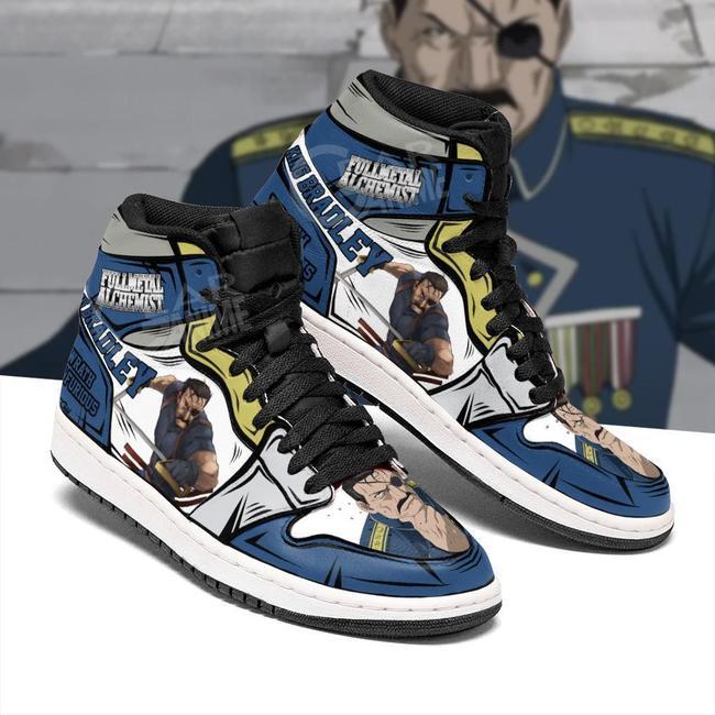 Fuhrer King Bradley Sneakers Fullmetal Alchemist Anime ...